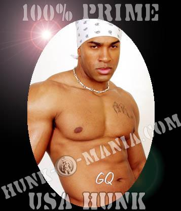 Hot black male stripper